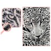 LEOPARDO BORDADO CON DIAMANTES