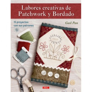 LIBRO LABORES CREATIVAS DE PATCHWORK Y BORDADO
