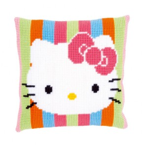 COJIN HELLO KITTY RAYAS