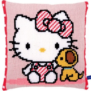 COJÍN HELLO KITTY Y SU PERRITO
