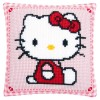 COJIN HELLO KITTY SENTADA