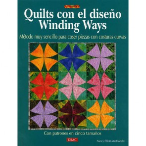 QUILTS CON EL DISEÑO WINDING WAYS