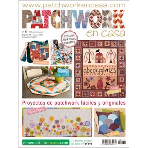 PATCHWORK EN CASA Nº 47 - Mochilas y quilts country
